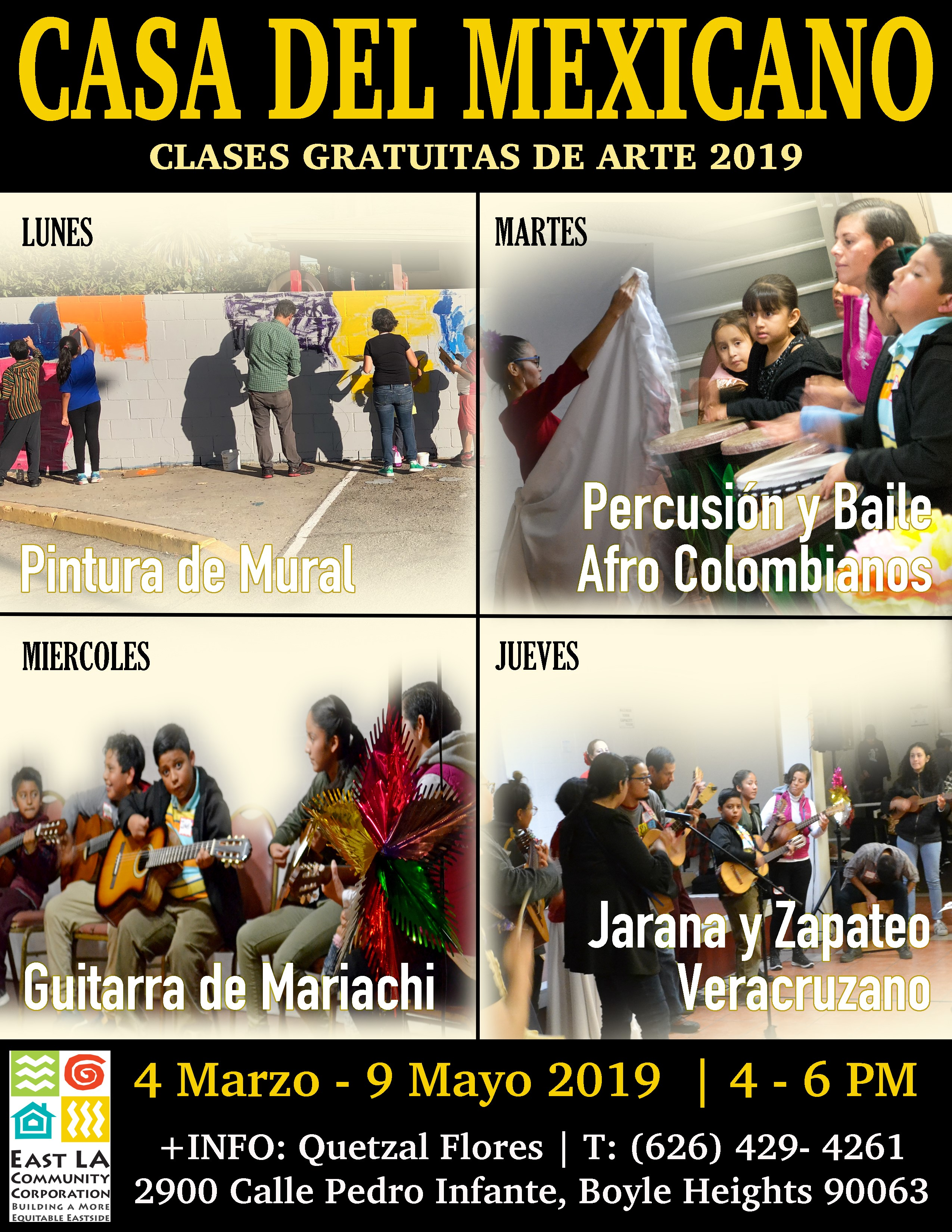 Casa Del Mexicano Music & Art Classes