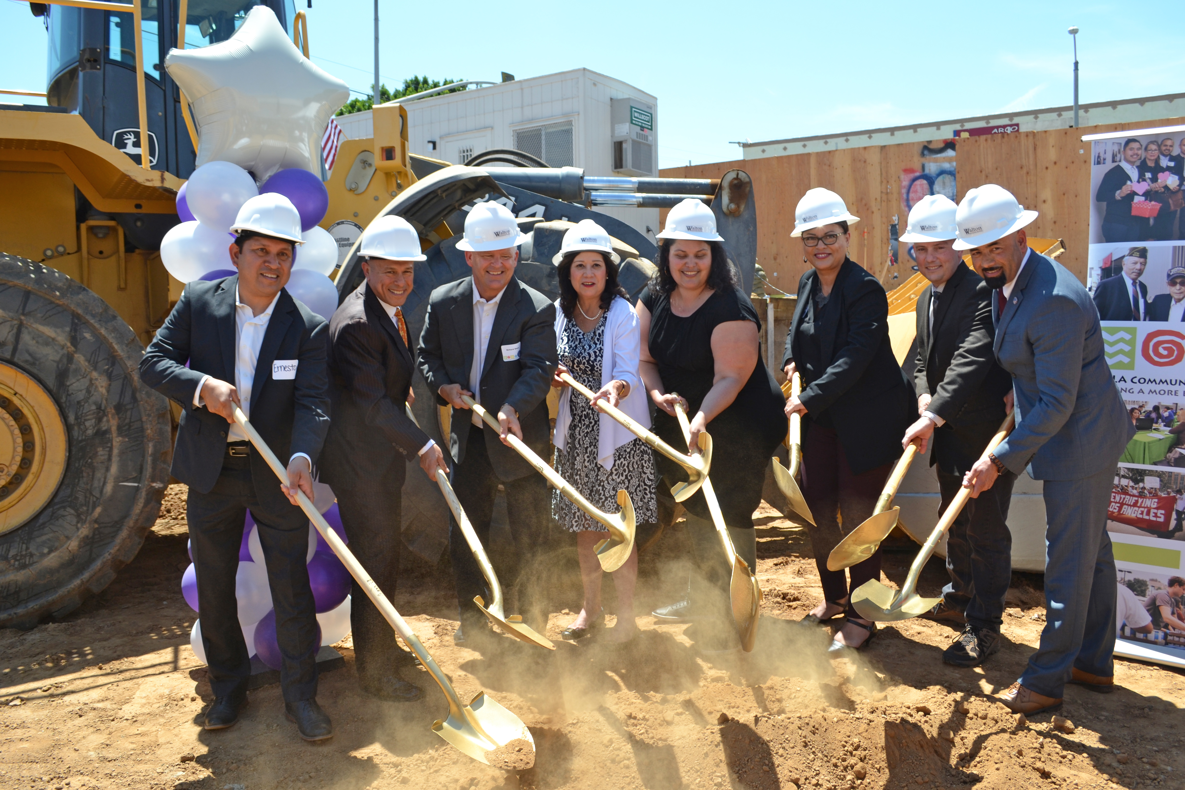 Housing for Homeless Veterans Breaking Ground in East LA