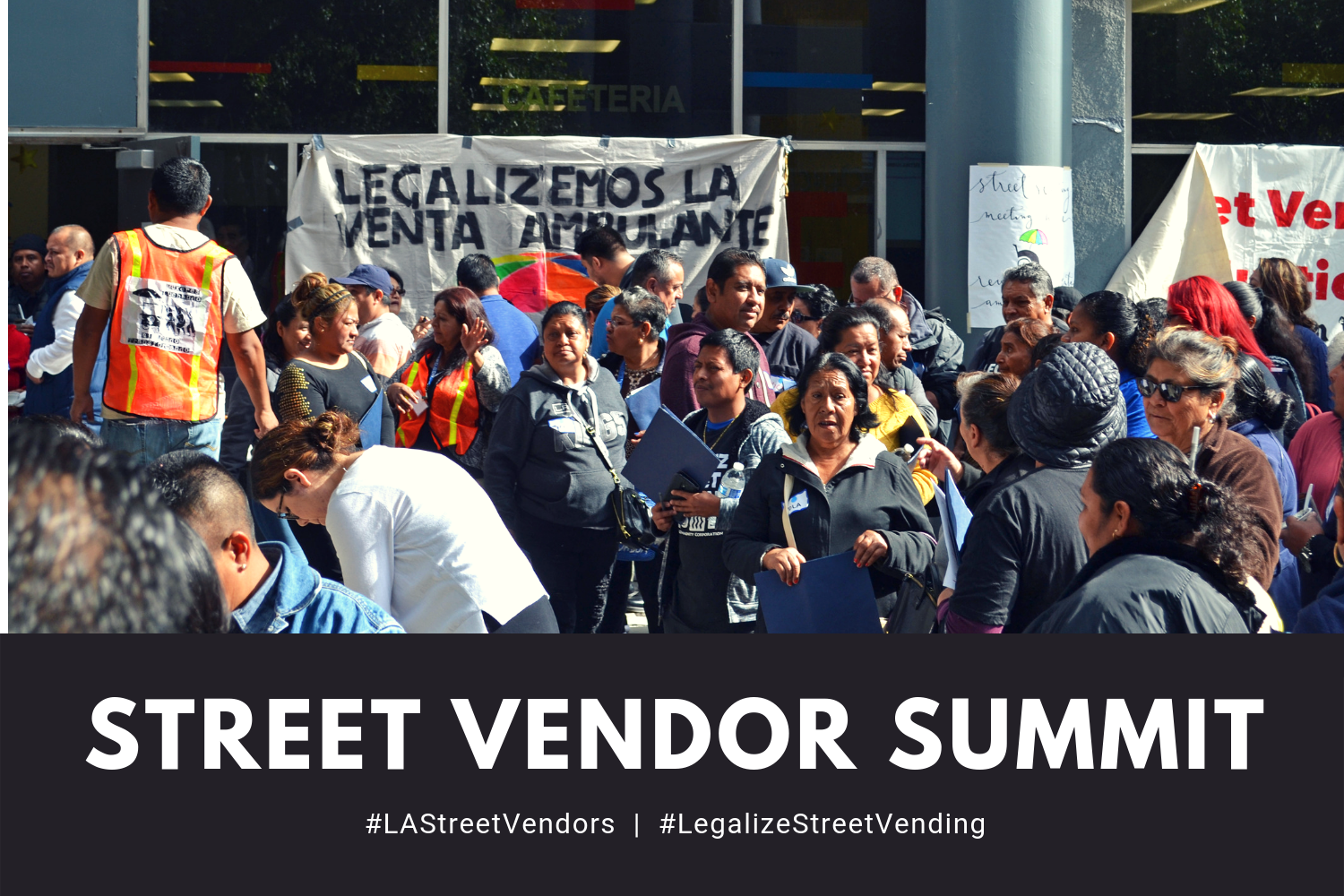 Hundreds of Angelenos Turn Up For Street Vendor Summit