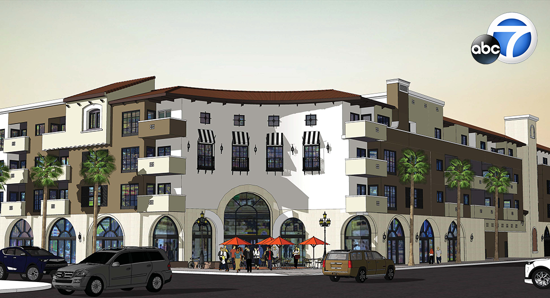 KABC: Construction begins on affordable-housing complex in East LA for homeless veterans